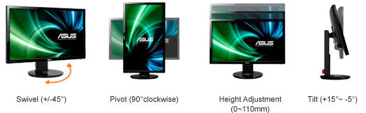 ASUS lcd monitor VG248QE UltraSmoothAction