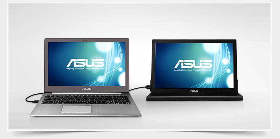 ASUS MB MB168B Screen LED Lit Monitor