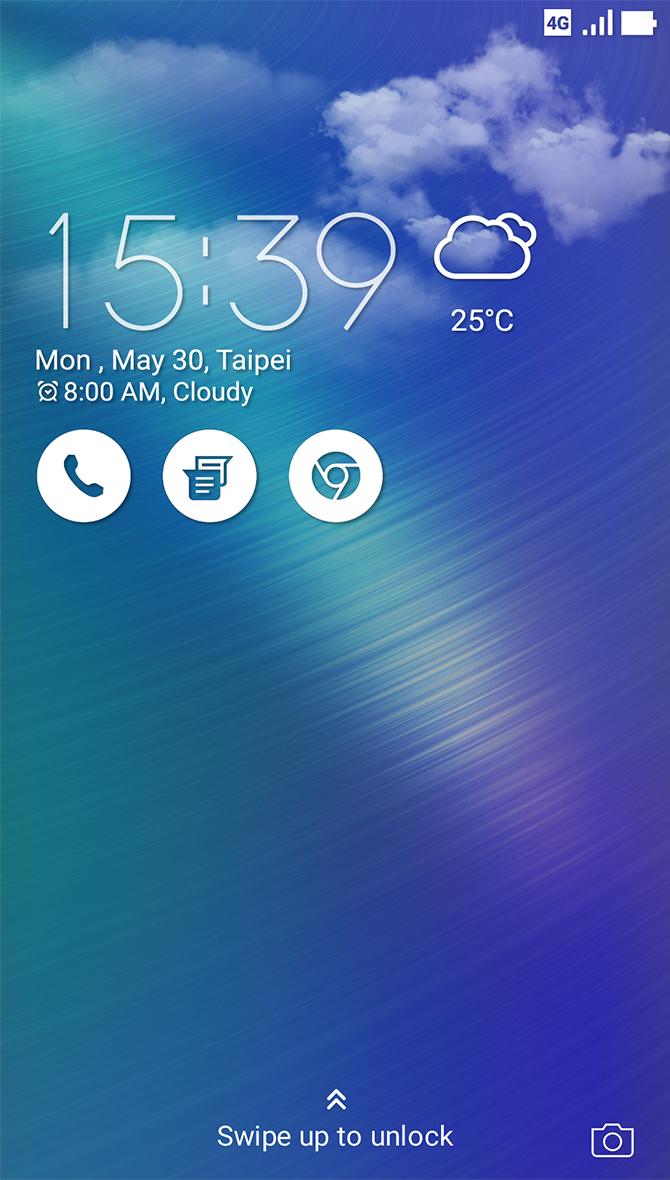 Zenfone 3 Laser Zc551kl Phone Asus Indonesia Garansi Resmi Lock Screen