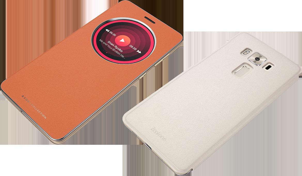 size 40 445ef 8564d Asus Zenfone 3 Deluxe Original View Flip Cover