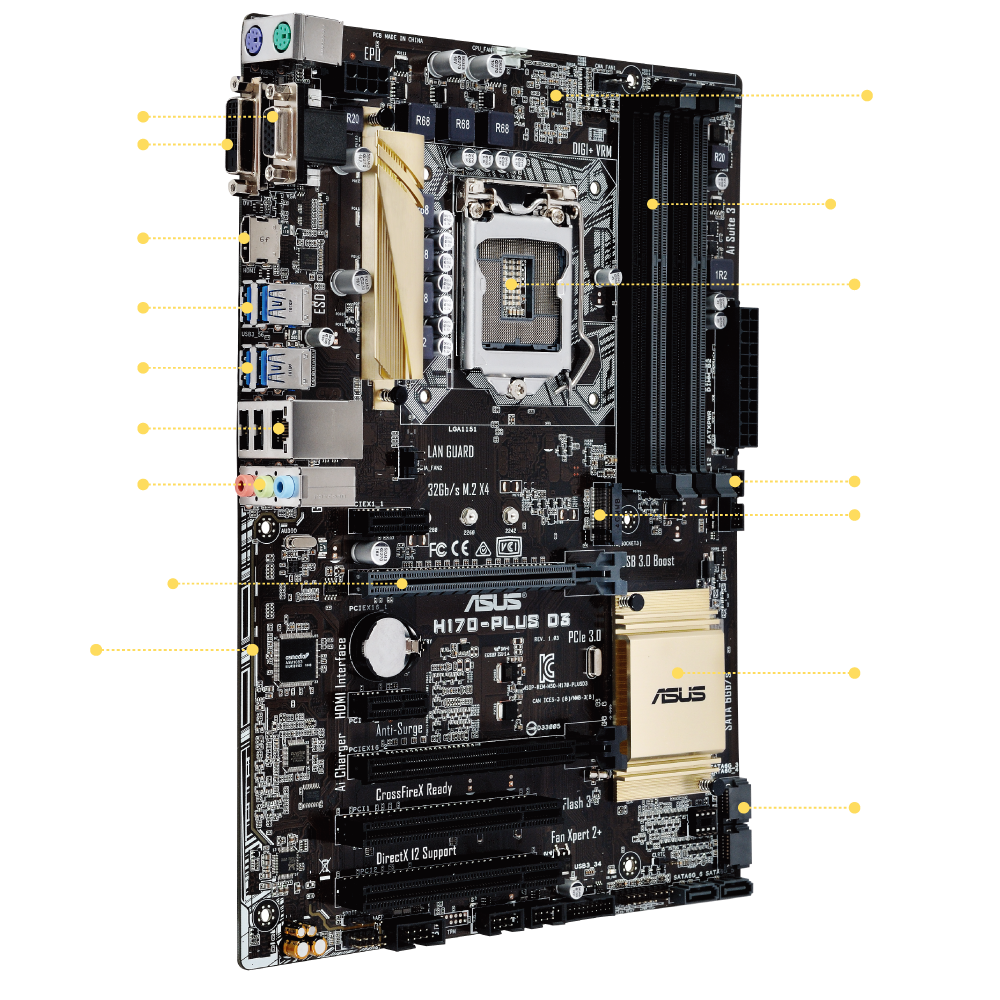 ASUS H170I-PLUS D3 INTEL LAN DOWNLOAD DRIVERS