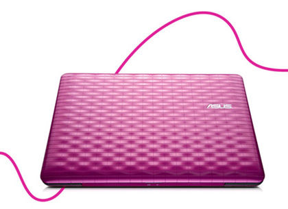 Eee PC 1008P - Be Bold in Glossy Hot Pink