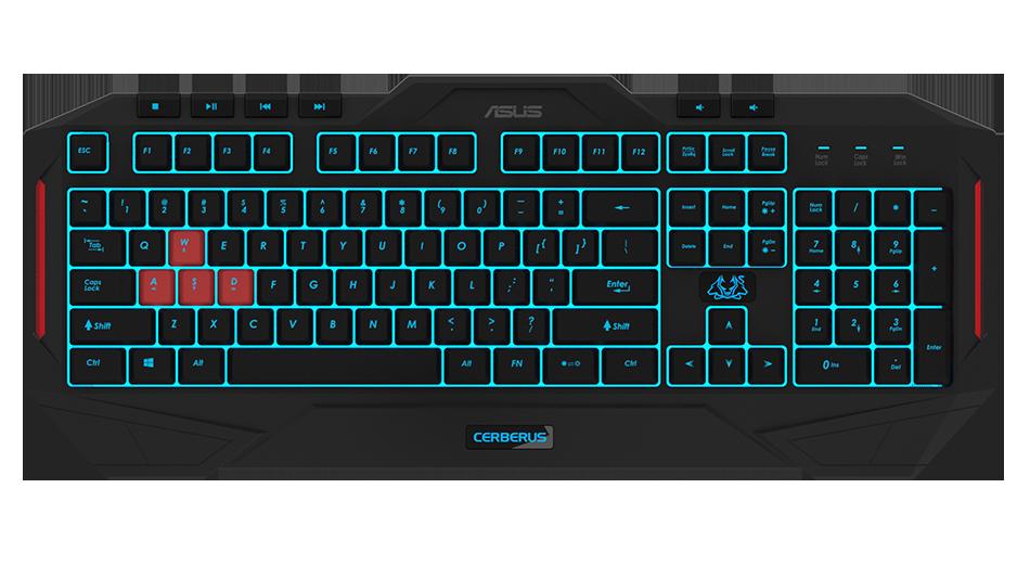 Cerberus Keyboard MKII | Keyboards & Mice | ASUS Global