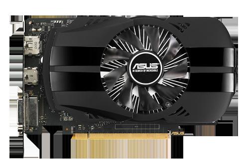 ASUS GTX 1050 3Gb Phoenix GeForce GTX 1050 3 GB GDDR5 Graphics Card - Black