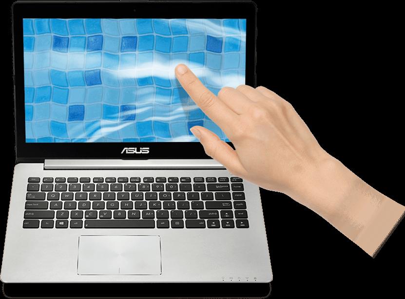 ASUS VivoBook S551LN Smart Gesture Linux