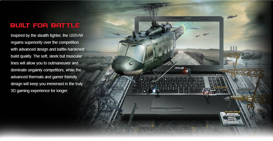 Uncompromising power with the most advanced CPU and GPU technology
