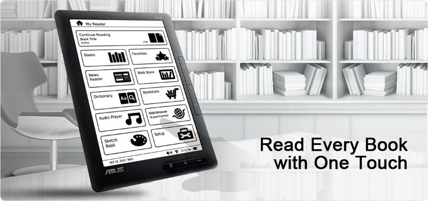 Eee Reader, hand writing, Eee Tablet, take note, digitizer, note-taking, Eee Reader, e-book, electronic notepad,  ASUS, Pad, Eee Pad, iPad, EverNote, ePub