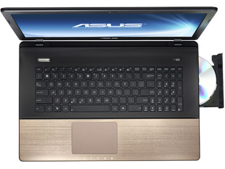 ASUS K75-serie med Palm Proof-teknik