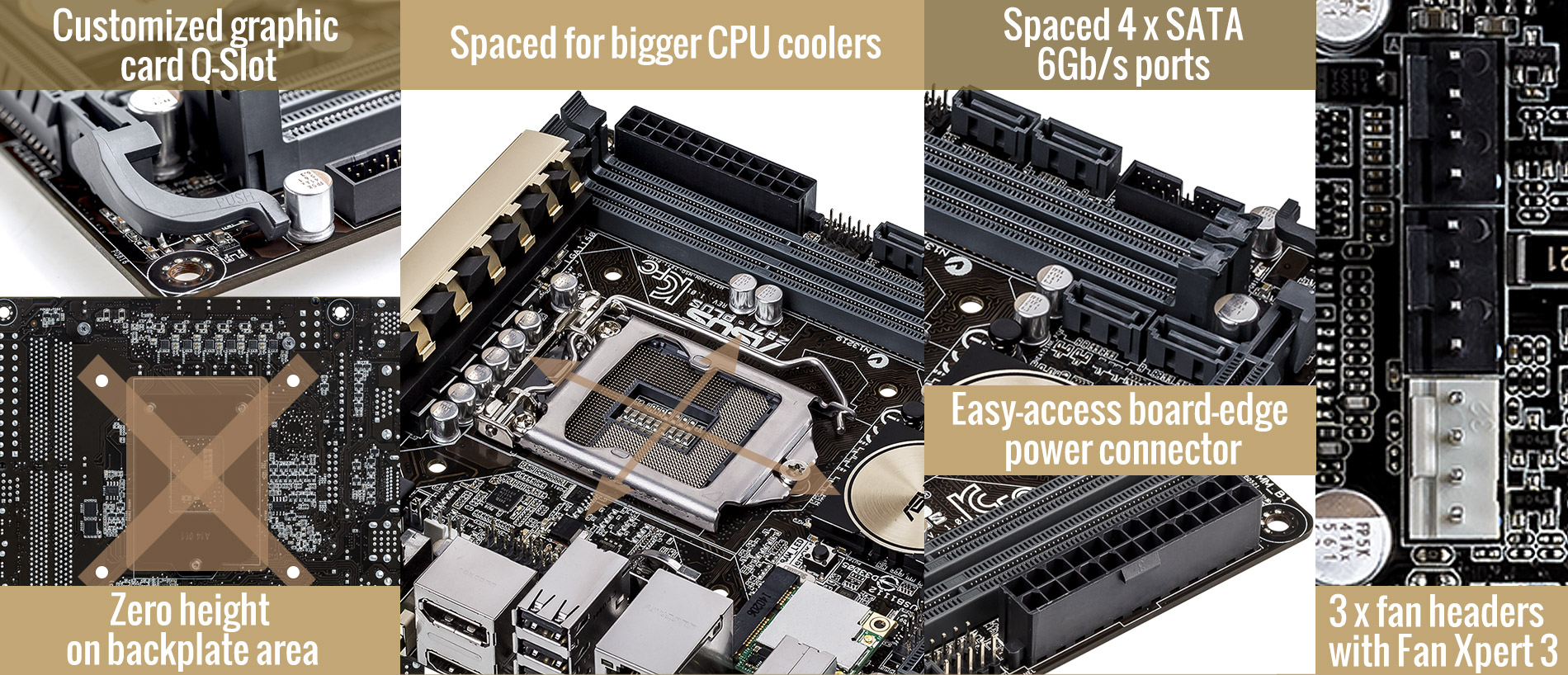 H97i Plus Motherboards Asus Global Circuit Diagram Of The Power Train A Typical Atx Computer For You This Means Great Expansion Flexibility Extra Storage Connectivity And Graphics Even Large Components Traditionally Considered Only Are