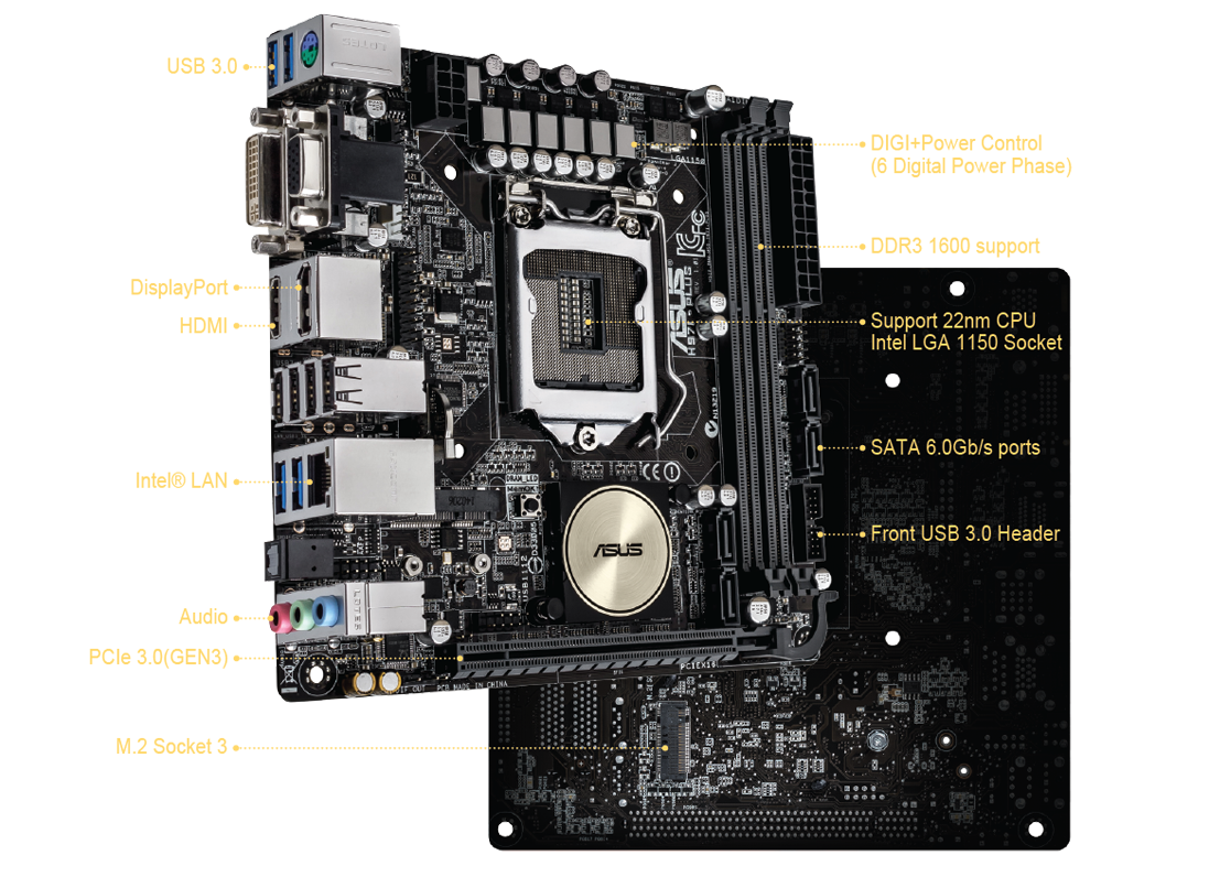 ASUS H87I-PLUS Intel Graphics Driver for Windows 10