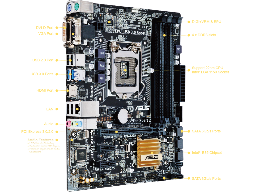 ASUS B85M-G R2.0 Intel Graphics Vista
