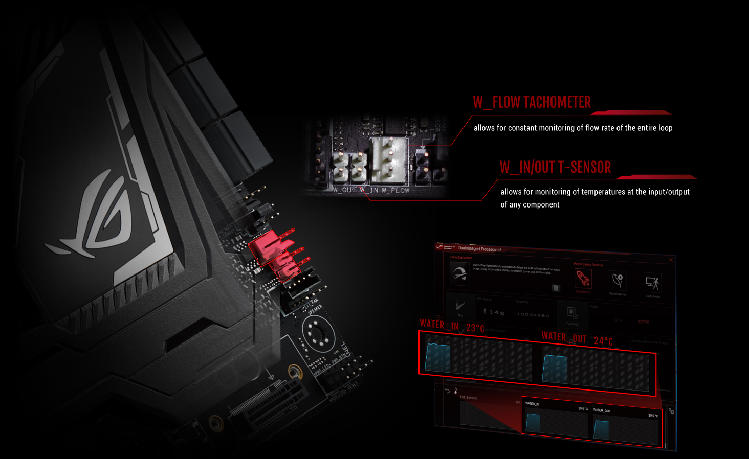 Rog Maximus Ix Code Motherboards Asus Usa Apa System Wiring Diagram Fully Dominate Your Water Cooling