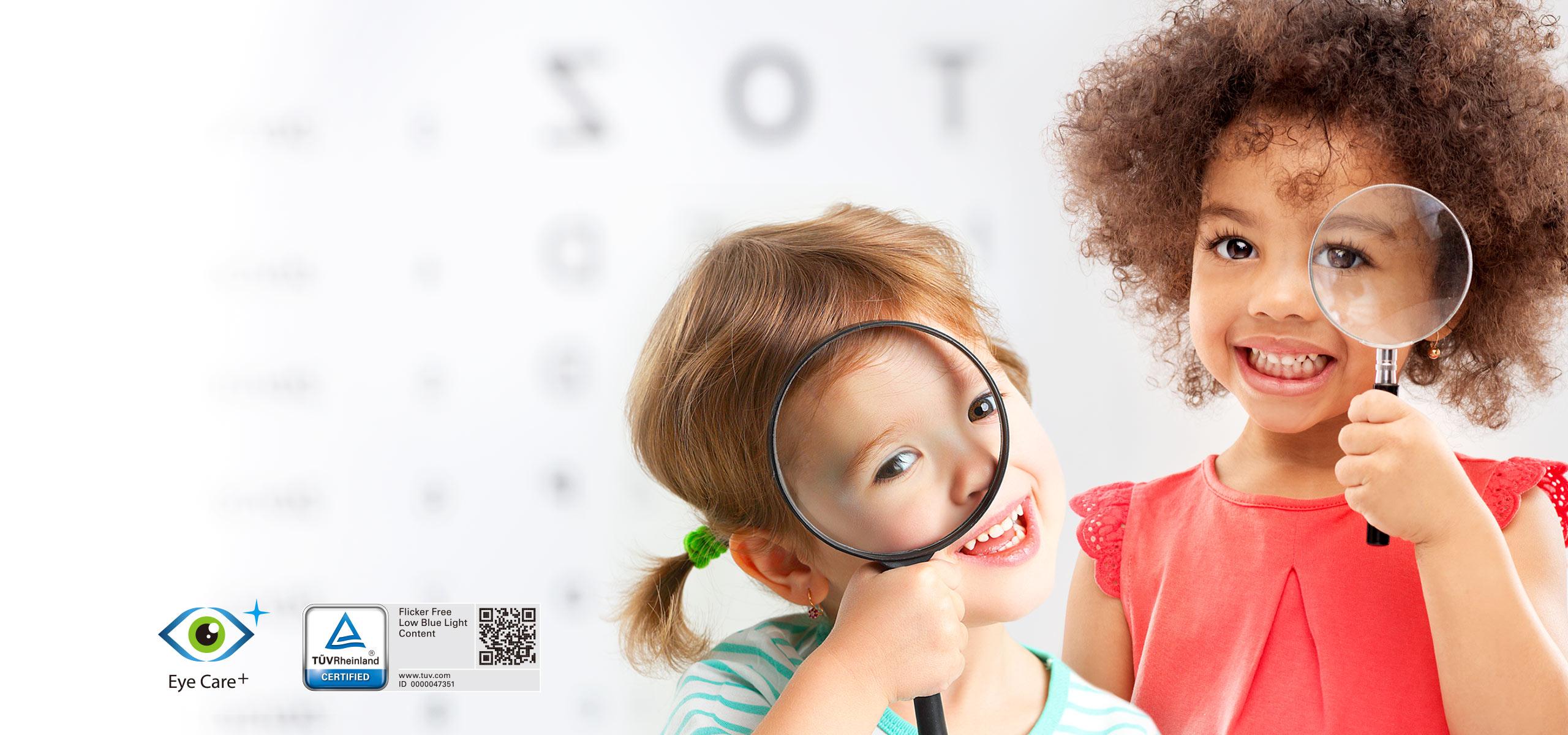 Технологія Eye Care+: захист і комфорт для очей