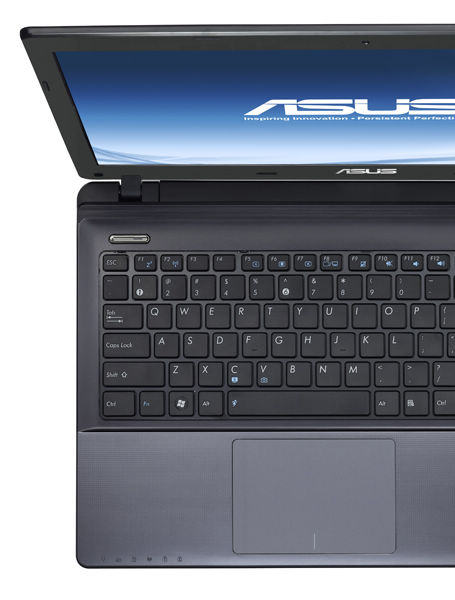 ASUS K55 seires with Palm Proof technology