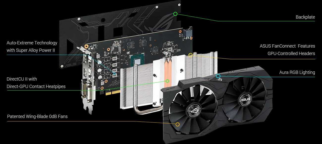 ROG STRIX-GTX1050TI-4G-GAMING   Graphics Cards   ASUS USA