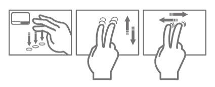 Multi-touch touchpad