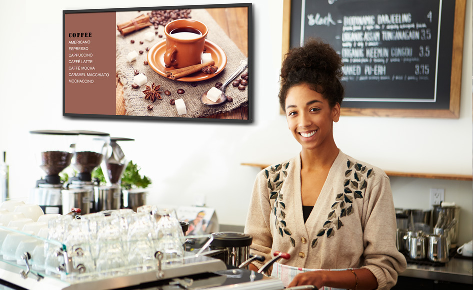 Capture Attention with More Vibrant Digital Signage