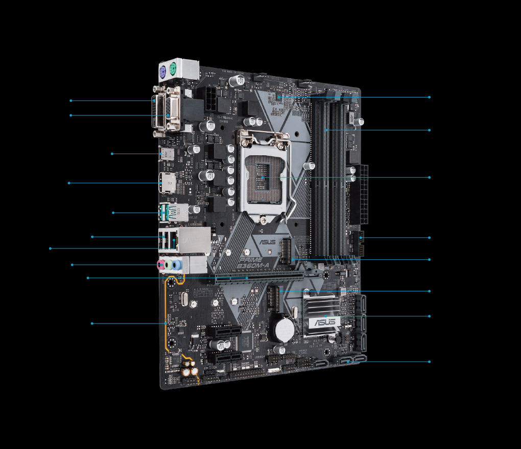 PRIME B360M-A | Motherboards | ASUS USA