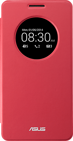 View Flip Cover Red