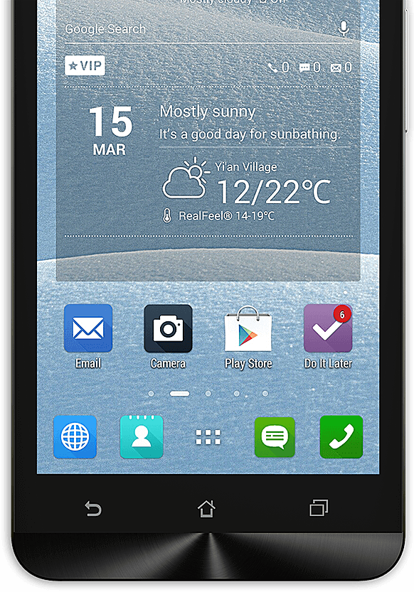 Zenfone 5 with Touch Responsiveness
