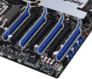 3 way SLI pic ASUS P6T7 WS SuperComputer Review