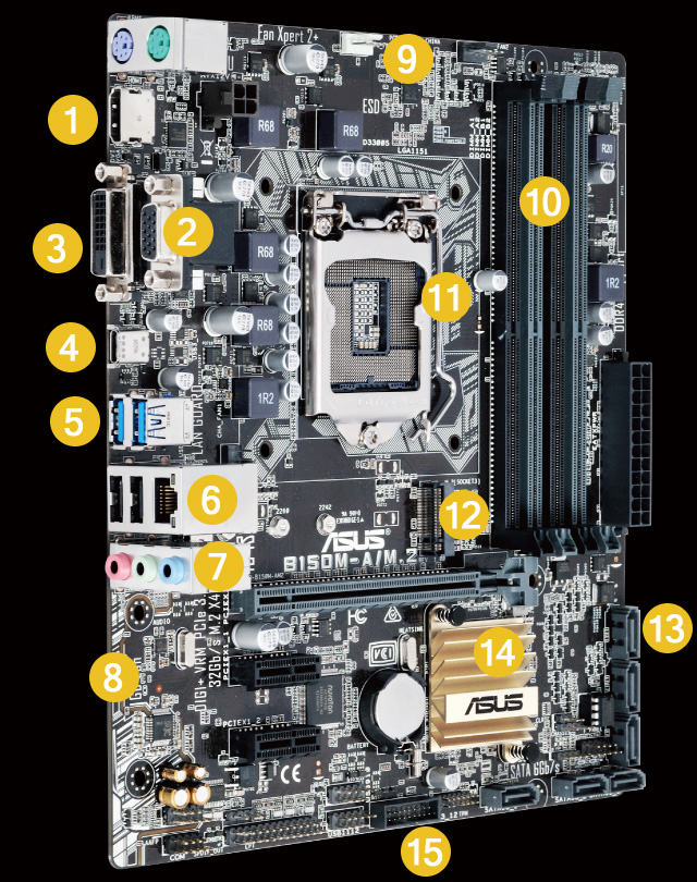 BIOS Chip ASUS B150M-A//M.2