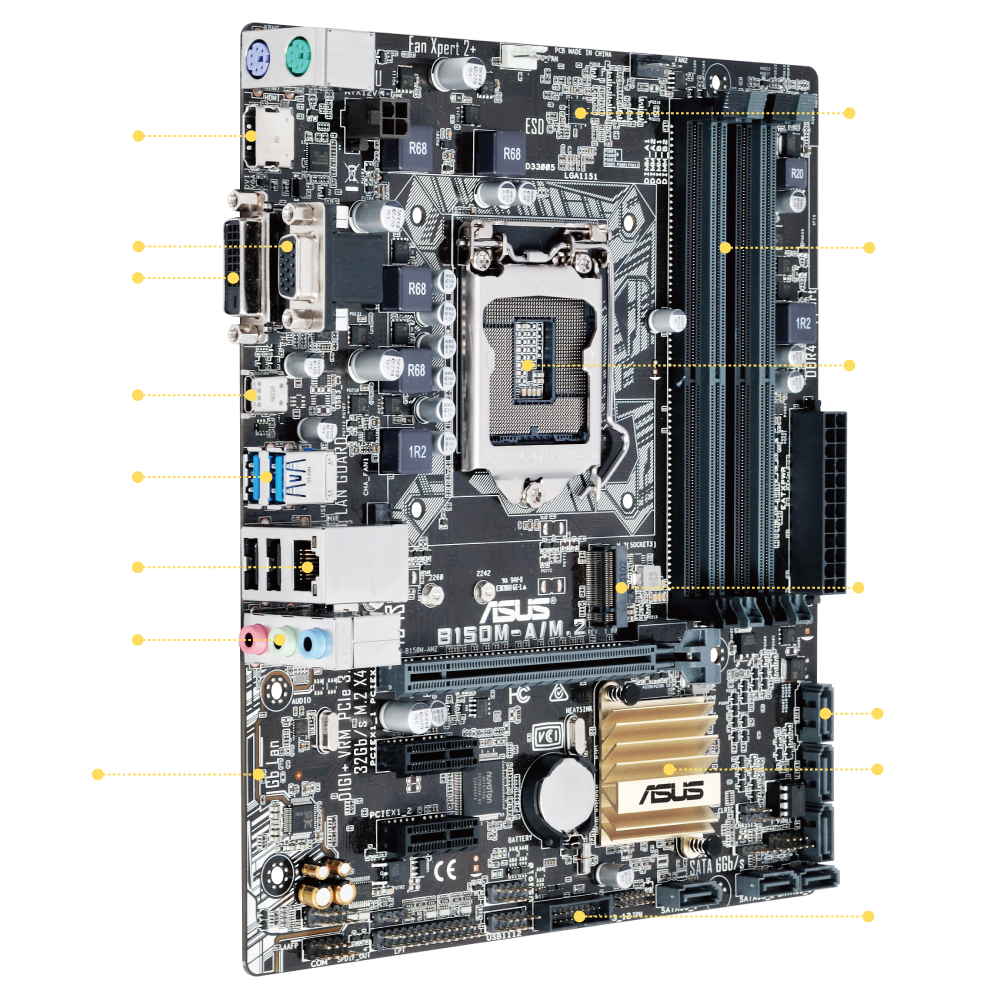 ASUS B150M-A/M.2 Driver for Windows