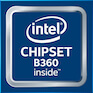 intel chipset B360 inside