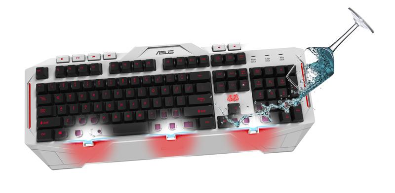 Cerberus Arctic Keyboard | Keyboards & Mice | ASUS Global