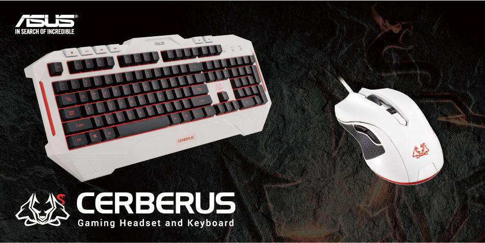Cerberus Arctic Keyboard Keyboards Amp Mice Asus Australia