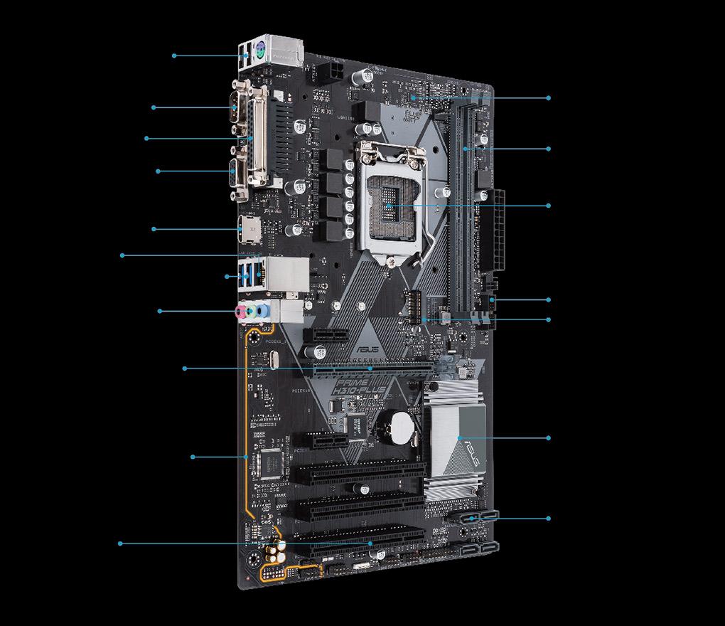 PRIME H310-PLUS | Motherboards | ASUS Global