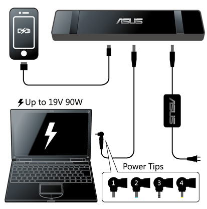 Asus Usb3 0 Hz 3a Docking Station Laptop Accessories