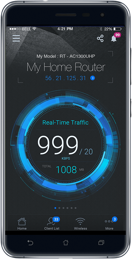 ASUS extender app helps users to easily setup their home network