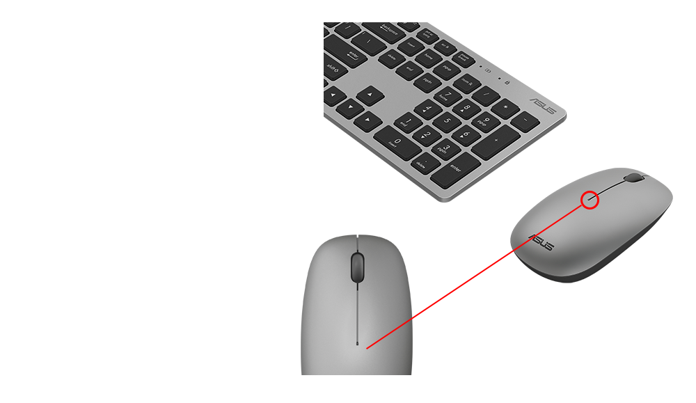 how to change wirless mouse sleep