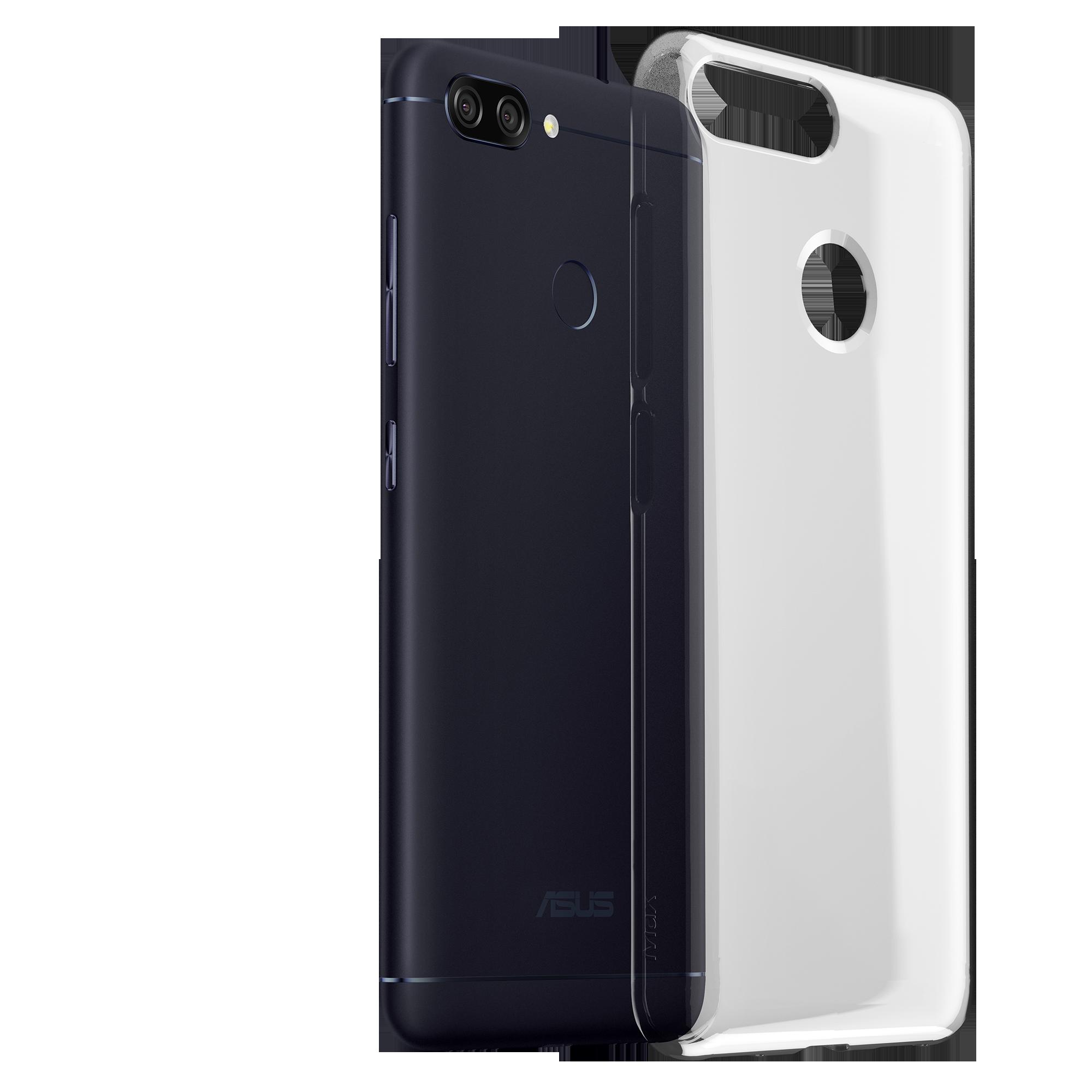 ZenFone Max Plus (M1) Clear Soft Bumper (ZB570TL)