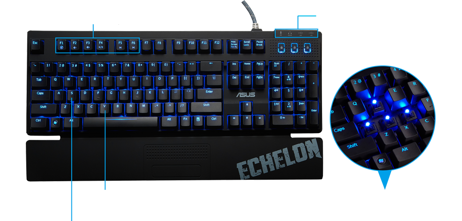Echelon Mechanical Keyboard
