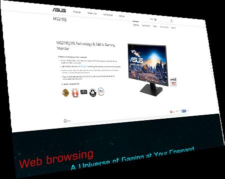 "ASUS ROG Swift PG248Q eSports Gaming Monitor - 24"" FHD (1920x1080)"