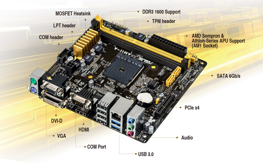 ASUS AM1I-A AMD CHIPSET DRIVERS (2019)
