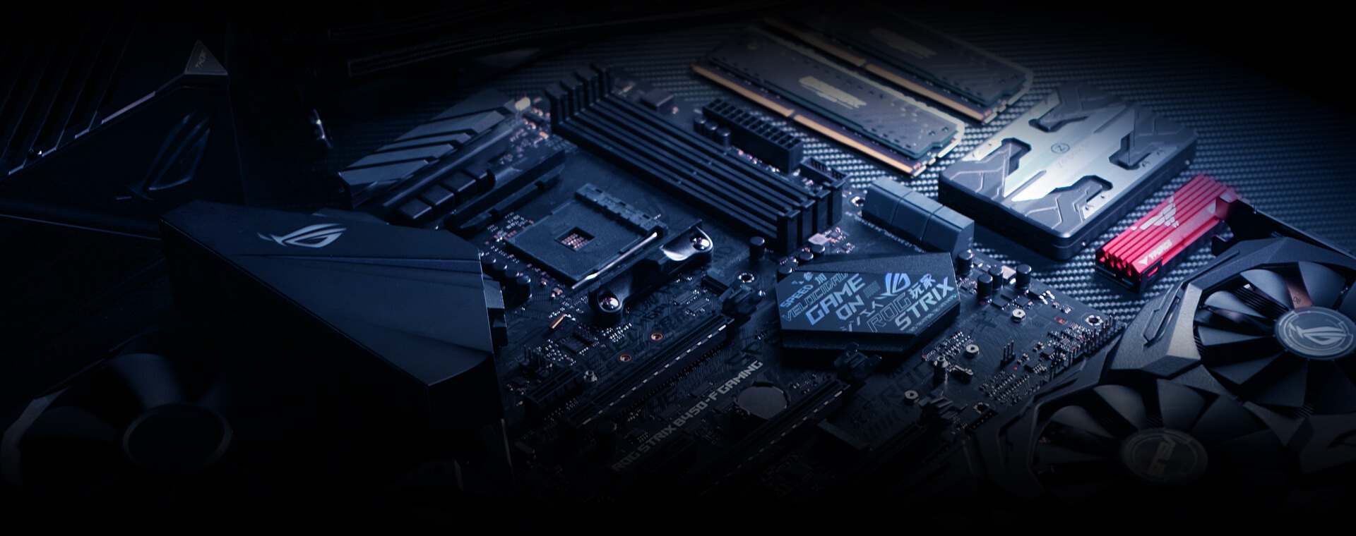 ASUS ROG STRIX B450-F GAMING Motherboard (Amd Socket AM4/Ryzen 2nd Gen  Series CPU/Max 64GB DDR4-3200MHz Memory)