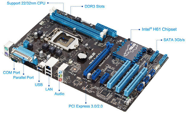 Asus P8H61 PLUS R2.0 Intel Smart Connect Technology Driver