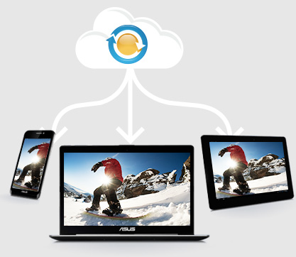 Access your data and files anytime, anywhere
