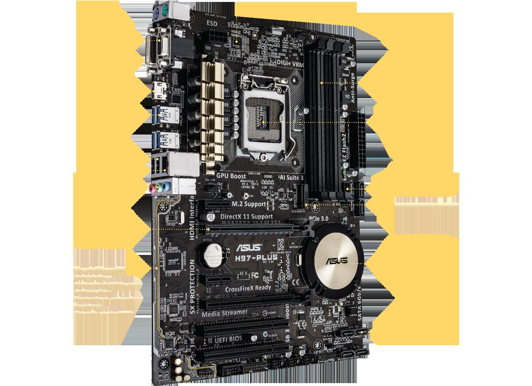 BIOS Chip ASUS H97M-PLUS