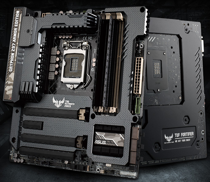 Fan That Blows Cold Air >> GRYPHON Z97 ARMOR EDITION | Motherboards | ASUS Global