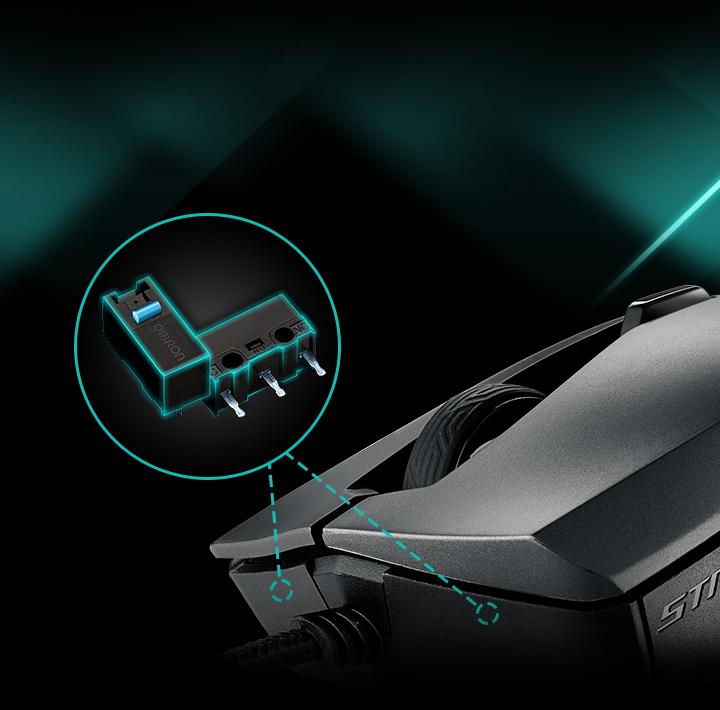 Resultado de imagen para Mouse ROG Strix Evolve png