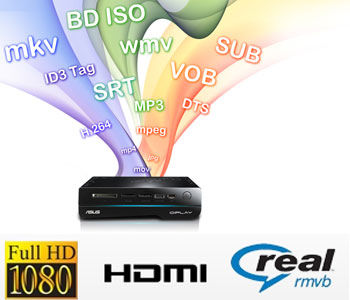 O!Play HD2 - Full HD 1080p and Multiple Formats Support