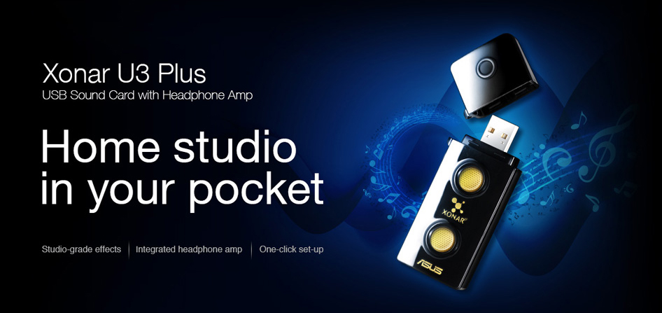 ASUS Xonar U3 Audio Driver for Windows 7