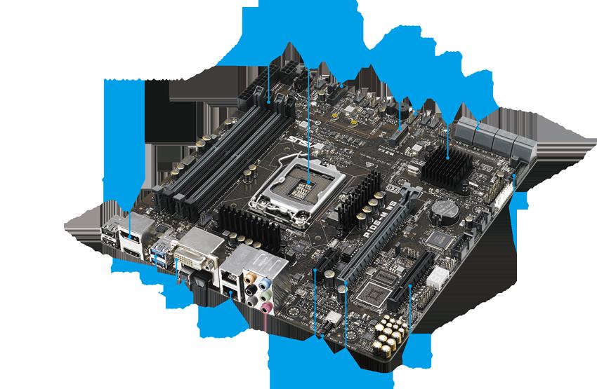 Asus P10S-M WS Workstation Board for Media Server