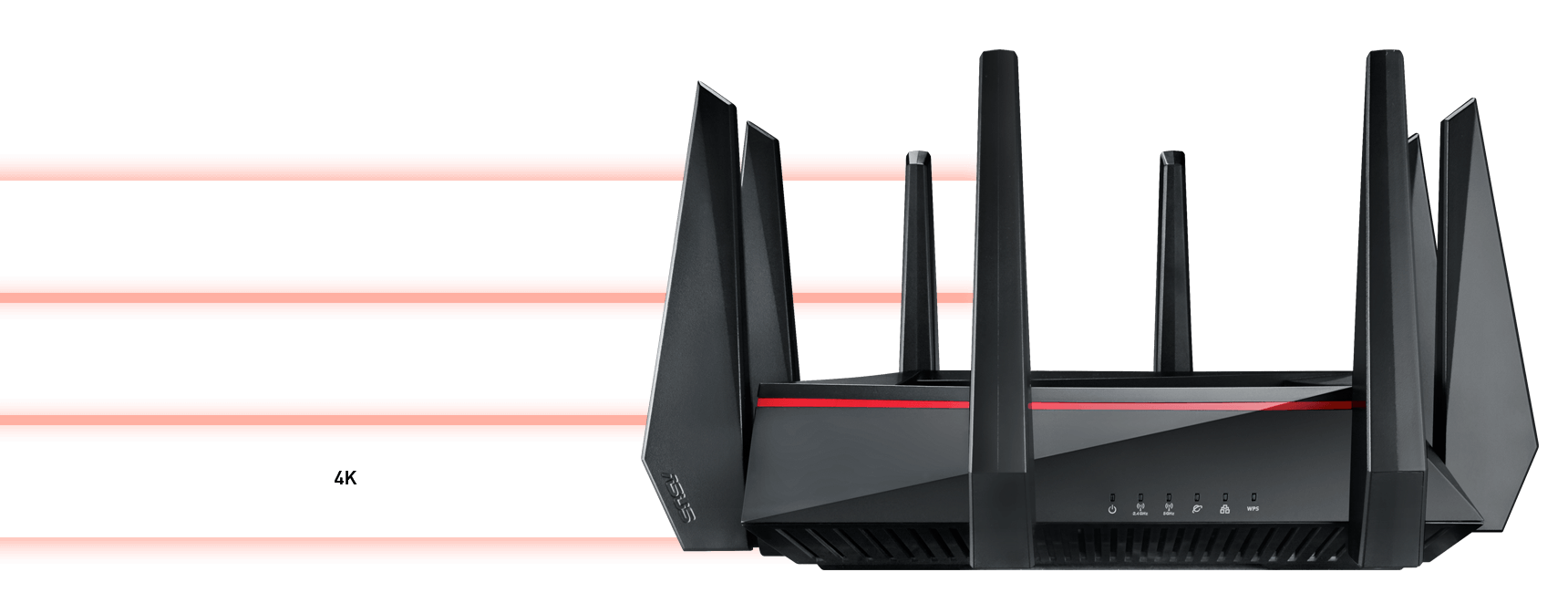 Rt Ac5300 Networking Asus Usa Wireless Router Setup Diagram Success Tri Band Smart Connect Intelligently Assigns Each Device To Best Available This Means You Get Better Range And Faster More Reliable Connections