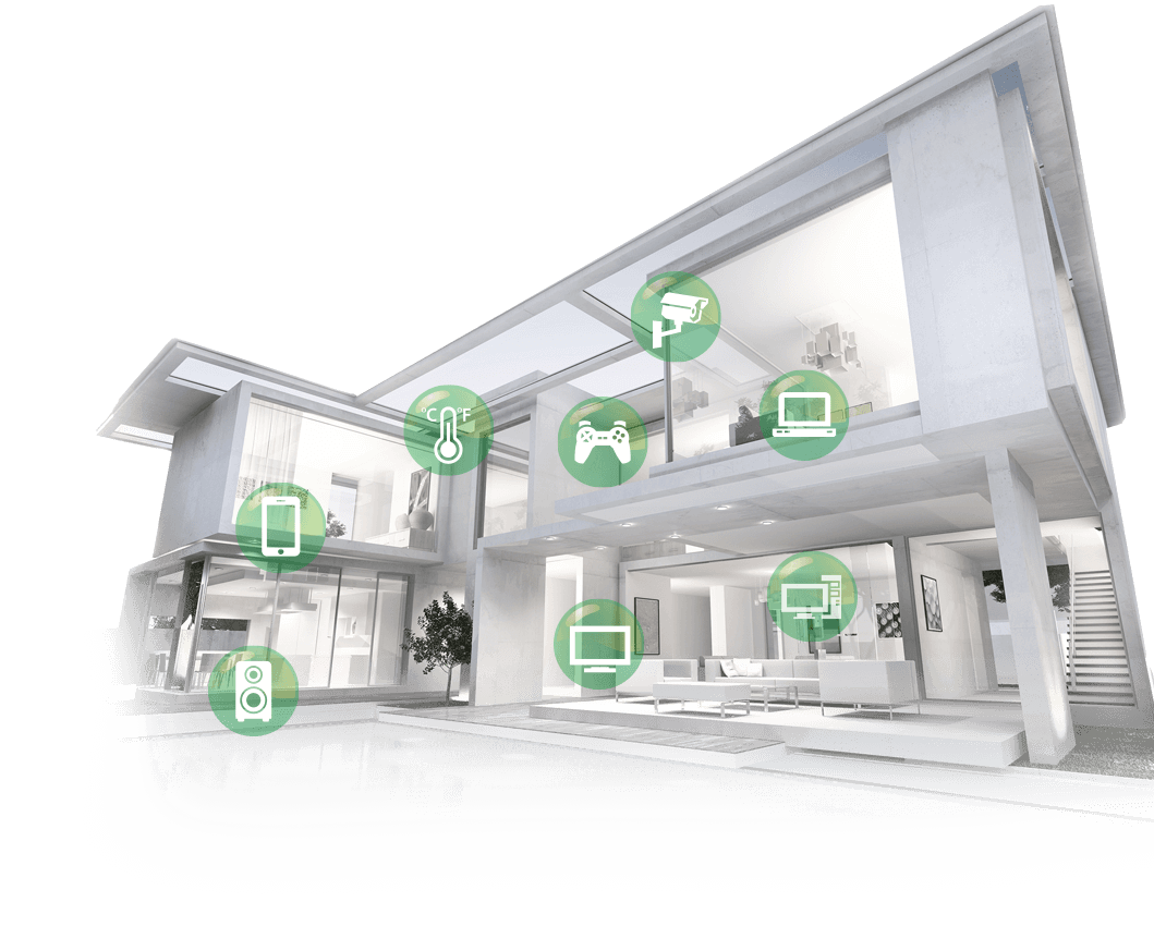 RT-AC5300 supports multi-device connection and help you to enable a smart home