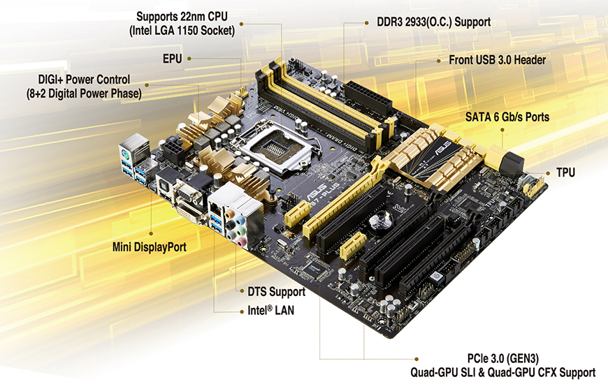 z87 plus motherboards asus usa rh asus com Asus Motherboard Diagram with Labels Asus Essentio CM1630 08